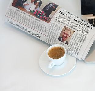 Journal et café