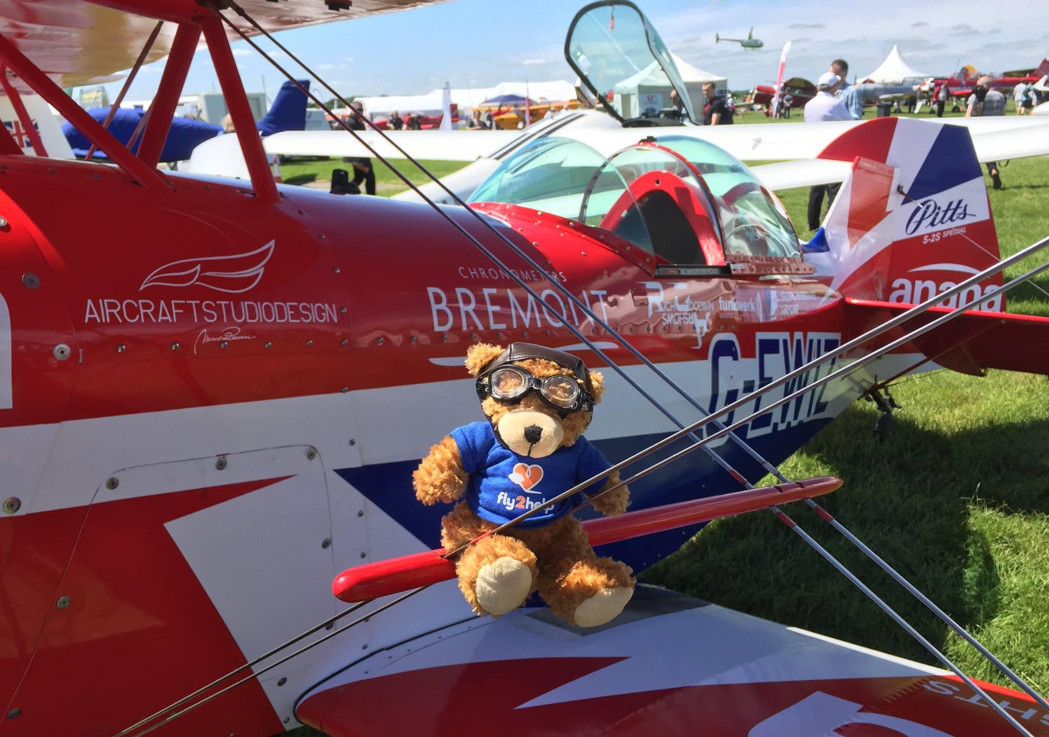 Rich Goodwin & fly2help bear