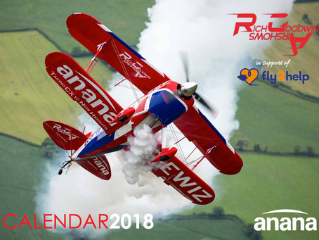 G-EWIZ, a 2018 Calendar!