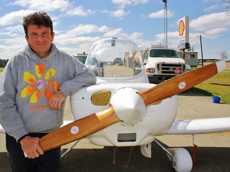 G-EWIZ Engineer authorised for solo flight through Russian air space to land in China