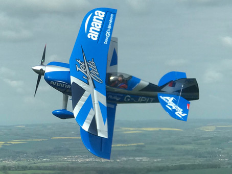 She flies! G-JPIT