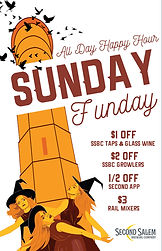 Second Salem Sunday Funday Poster