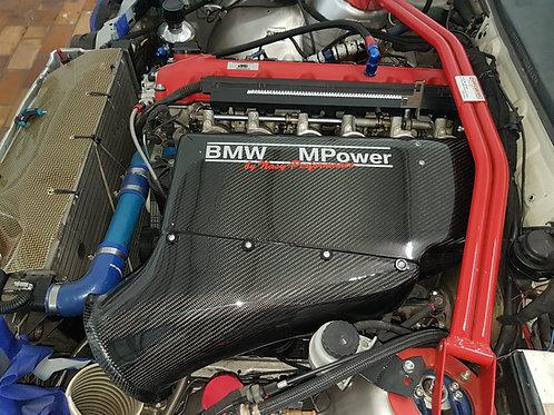 BMW E30 S50 Kohlefaser Airbox