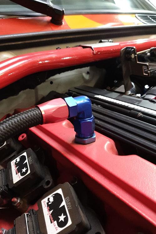 Geänderte Kurbelwellenentlüftung für S50 Motoren