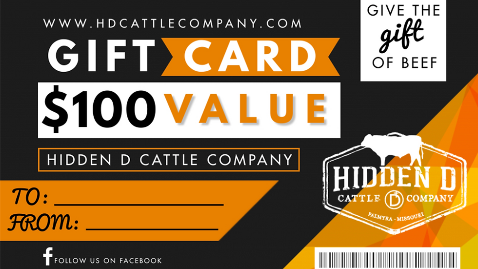 Beef Shop Gift Card