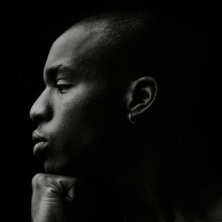 A portrait of Malcolm Omoruyi.