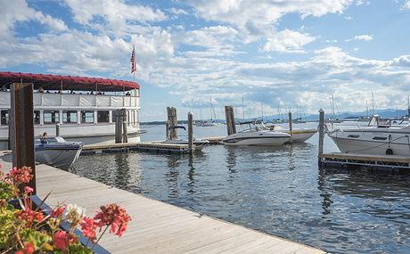 Lake Champlain Waterfront Burlington VT