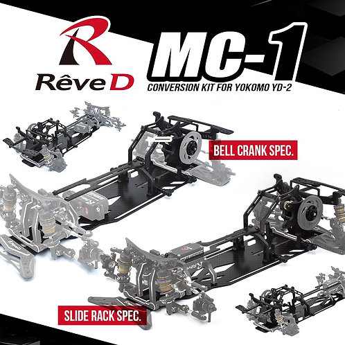 ReveD MC-1 Bell Crank Spec. Conversion Kit For Yokomo YD-2 Now Available For Pr