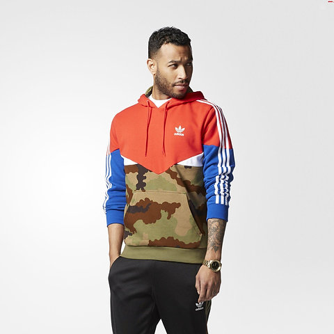 wholesale dealer dabad 9a8b4 Adidas Essentials Pullover Camo Pack Hoodie AY8106