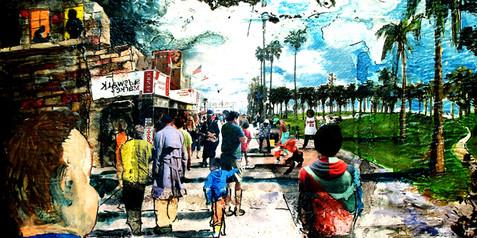 Venice Beach Menagery Study