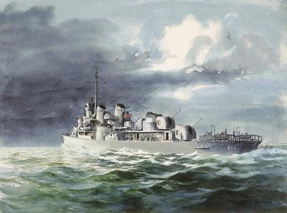 Destroyer, USS Hood