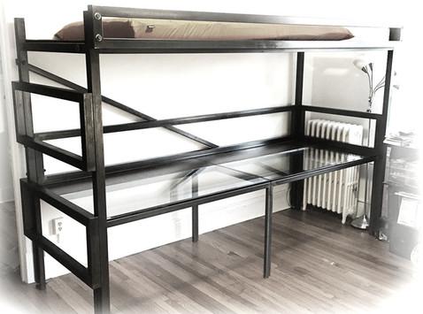 Bunk Bed Work Station