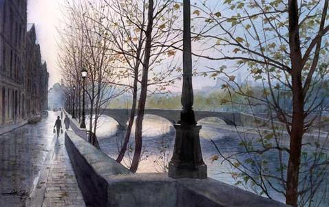 Evening on the Seine
