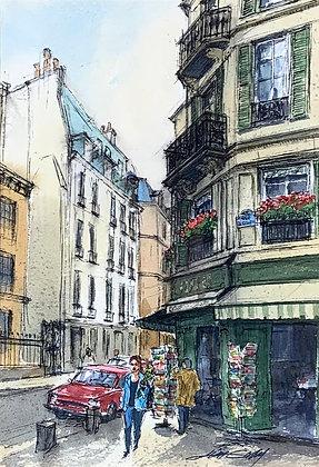 Rue St. Curier Paris