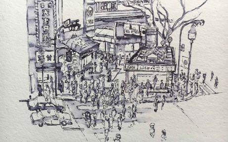 Shibuya Tokyo Ink