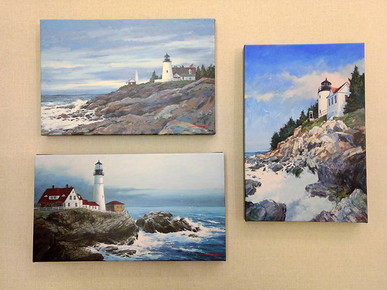 Lighthouses of Maine collection