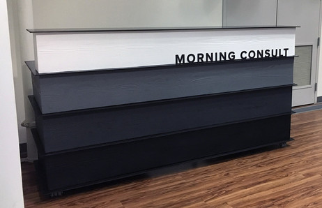 Morning Consult Reception Desk