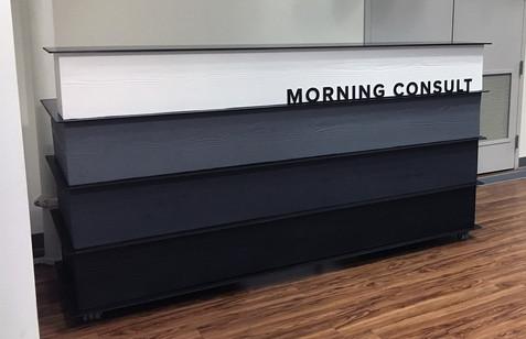 Morning Consult Reception Desk