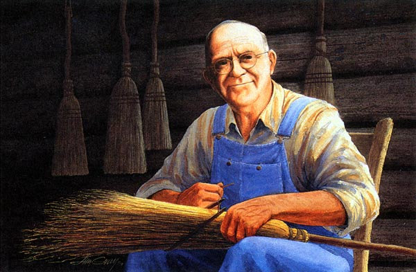 The Broom Maker