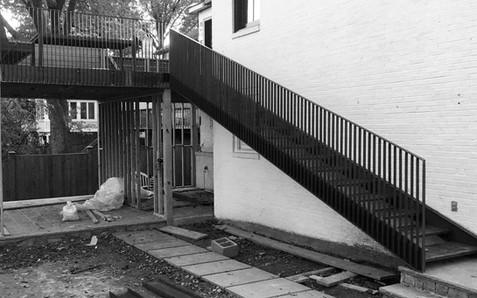 Exterior Railing and Stair