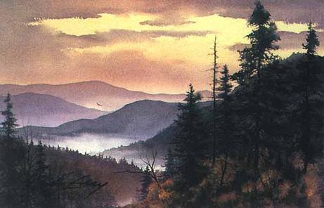 Smoky Evening