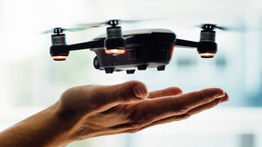 Drones help battle Covid-19
