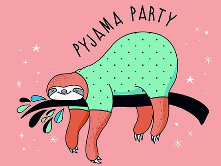 Rückblick Pyjama-Party BR