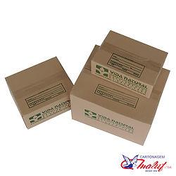 Caixa de papelão personalizadas com logo