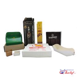 Caixas e embalagens de papel-cartão