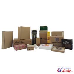 Caixas de papelão e papel cartão