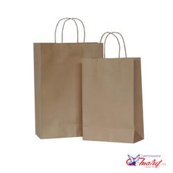 Sacolas de papel kraft para pronta-entrega