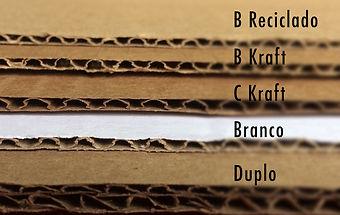Tipos de papelão BH