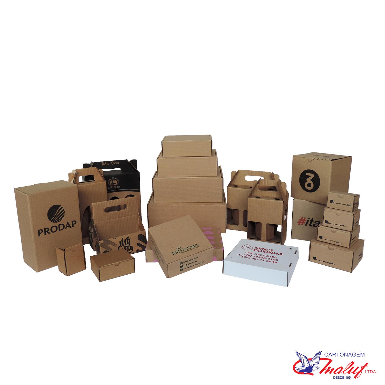 Caixas de papelão Corte e Vinco