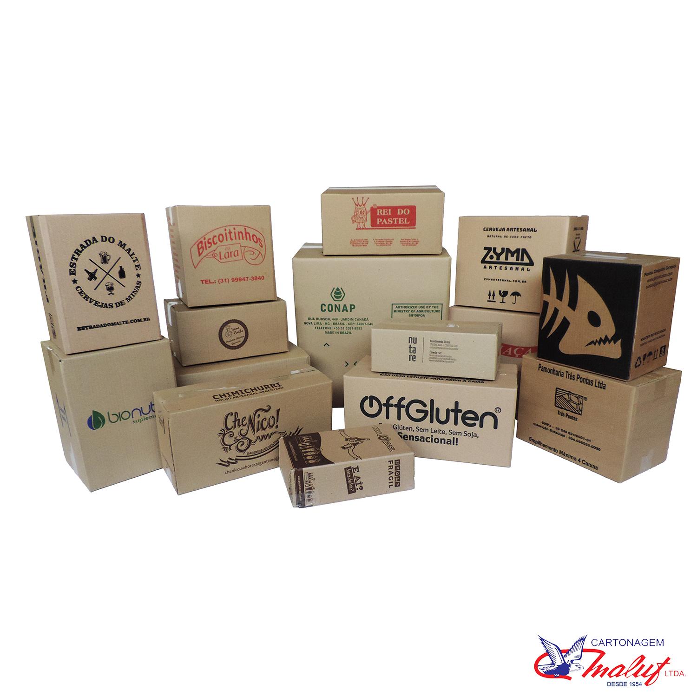 Caixas de papelão BH