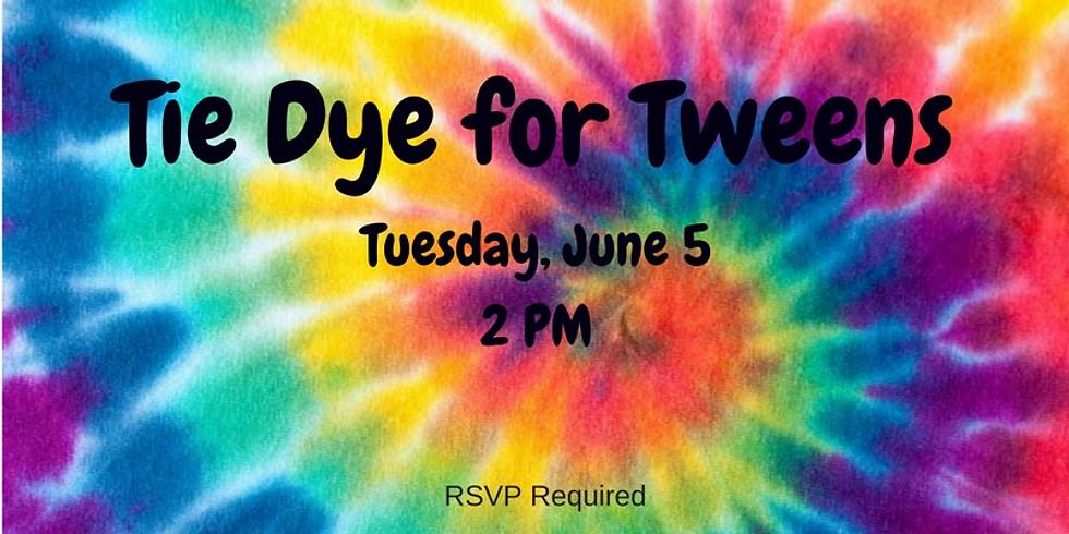 Tie Dye for Tweens
