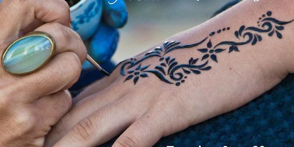 Tweens: Henna Tattoos