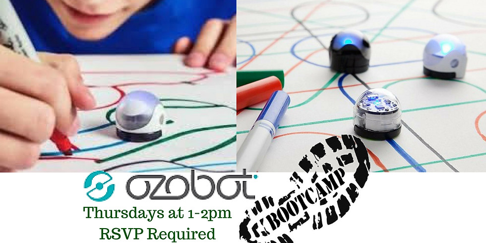 Ozobot Boot Camp - July 5