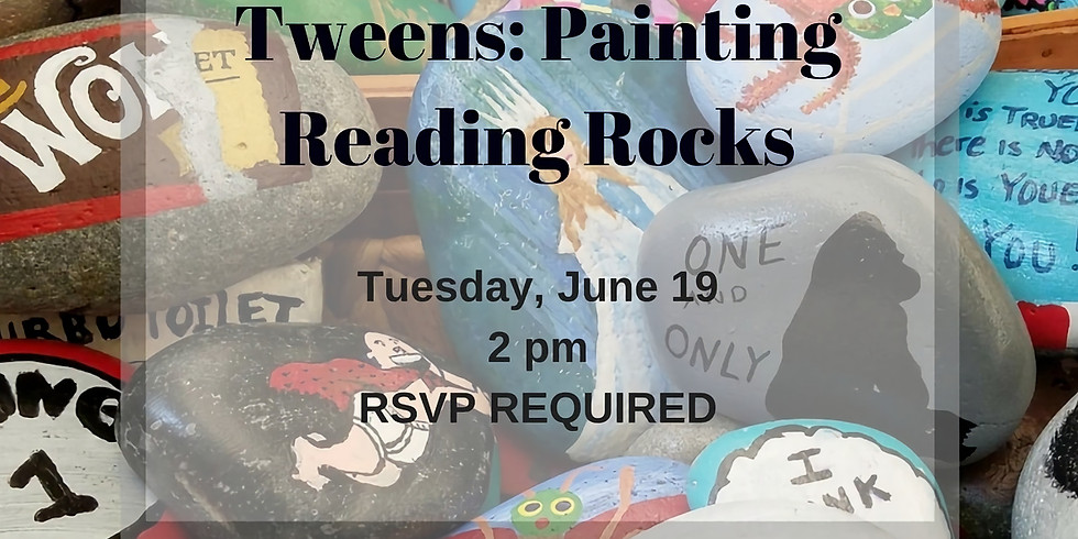 Tweens: Reading Rocks!