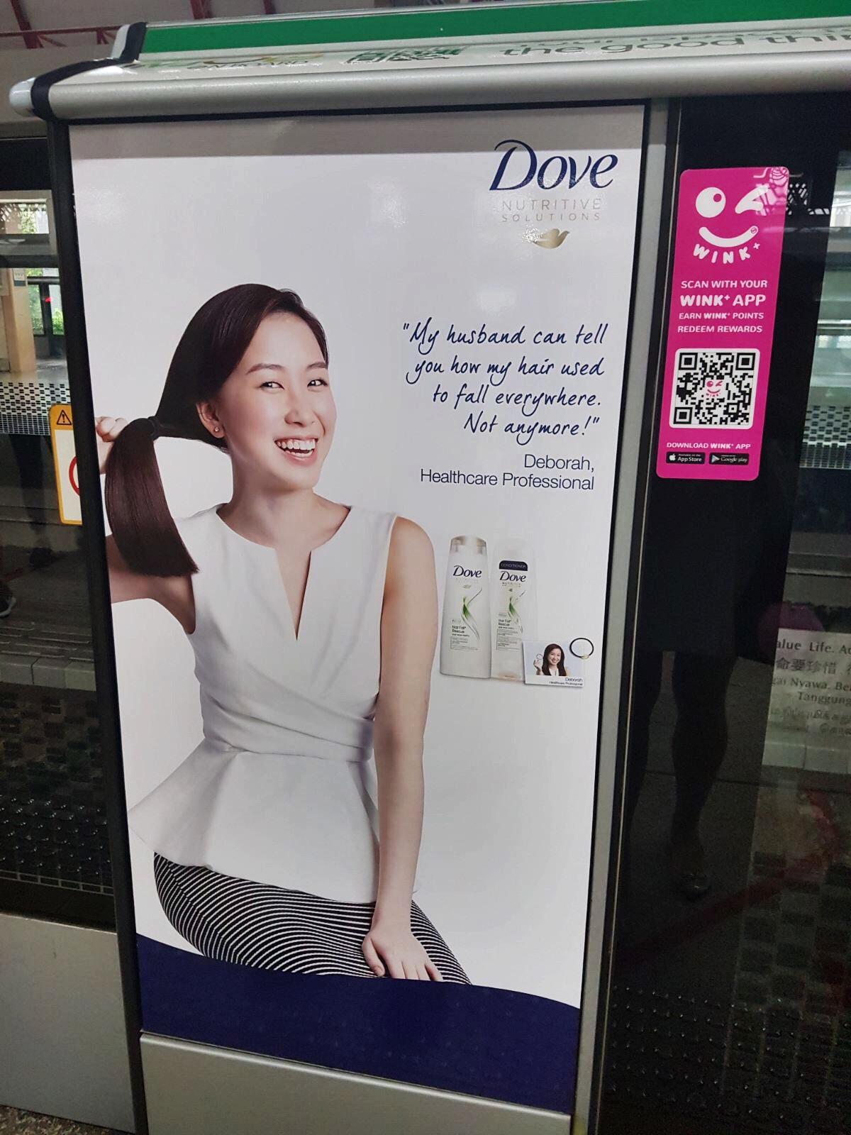 Dove Print Ad