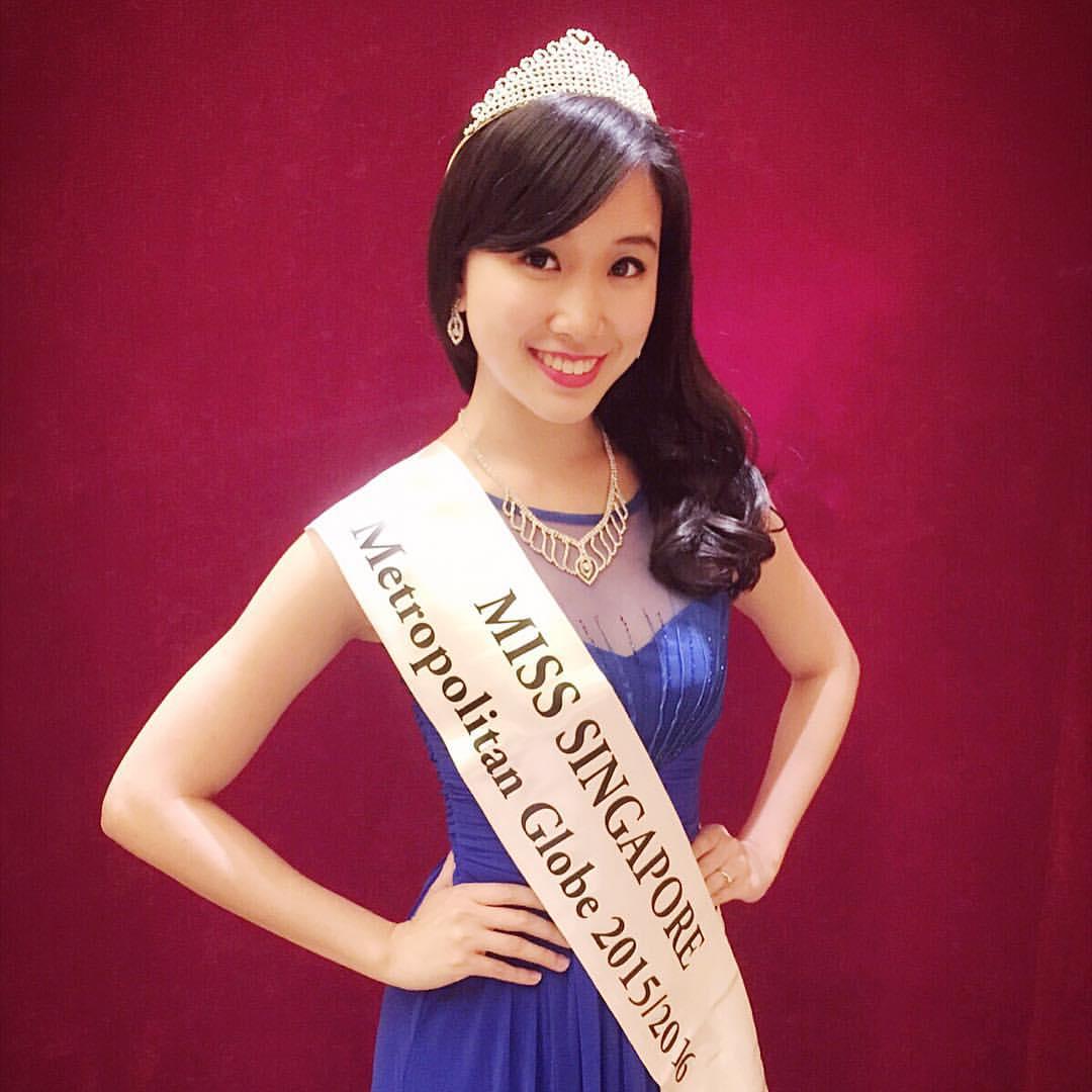 Miss Singapore Metropolitan Globe 2015/2016