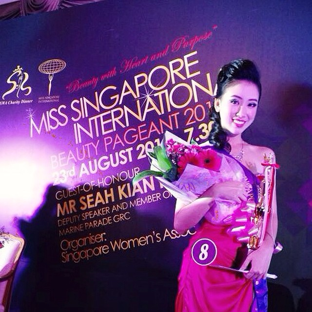 Miss Singapore International 2014