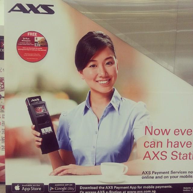 AXS Print Ad
