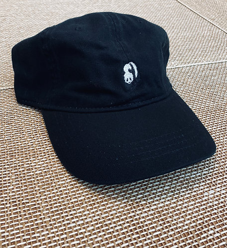 Black Panda Bear Hat