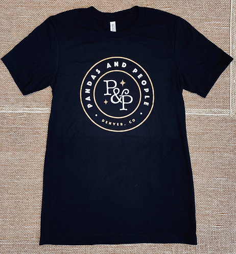 Unisex Black Tee (Full Logo)