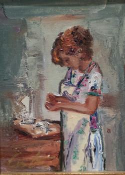 JoHanna, In the Kitchen