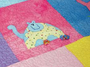 Baby – uma manta cheia de gatos modernos