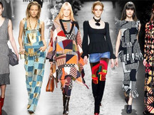 Patchwork na moda