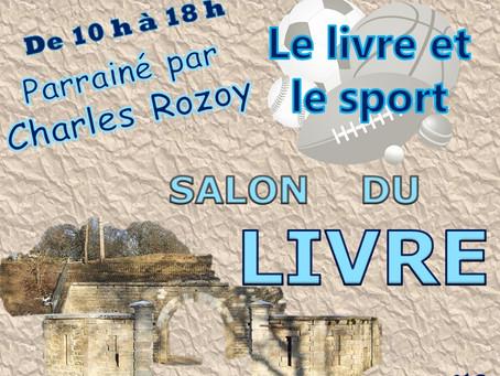 Salon du livre de Saint-Apollinaire (21) du 26 août 2018