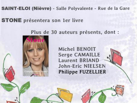 Printemps du livre de Saint-Éloi (58) du 31 mars 2019