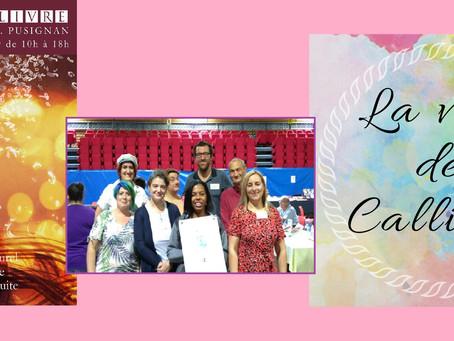 Salon du livre de Pusignan (69) 14 et 15 septembre 2019